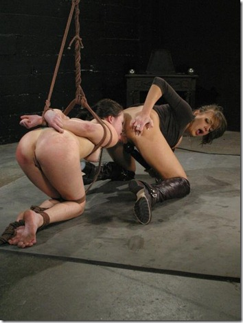 chantas-bitches-slave-forced-to-lick-pussy